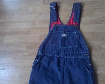 Overalls, Bibs Small  Women's waist 30- 32 Bgosh  Oshkohbgosh lined