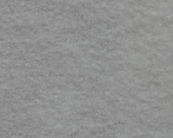 """1 yard Silver Gray Acrylic Felt 36""""x36"""""""
