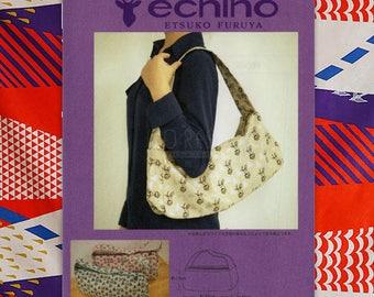 Paper Pattern | Echino Handle Shoulder Bag Pattern JRK461