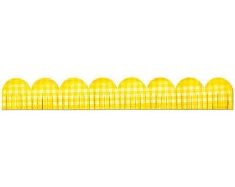 Sizzix Sizzlits Decorative Strip Die 12.625'X2.375'-Fringed Scallop