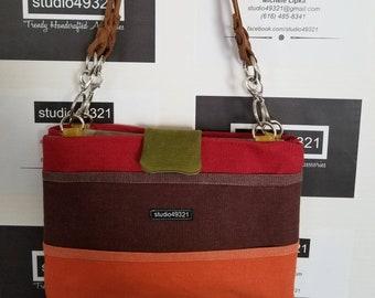 Sunset Canvas Handbag (Style A)