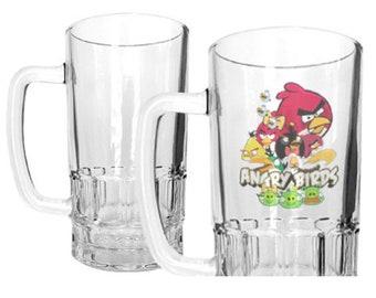 20 oz - Sublimation Beer Mug - Print Full Color Directly onto Mug using Dye Sublimation Ink