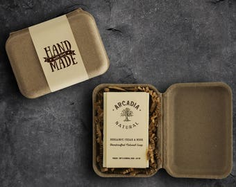 Handmade soap gift, Gift for him, Gift for men, Especially for you, Birthday gift, Eco-friendly box, Christmas gift for him