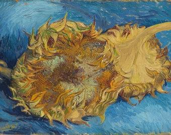 Vincent van Gogh: Sunflowers. Fine Art Print/Poster. (004191)
