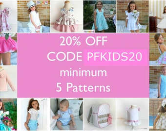 20% OFF DISCOUNT when you purchase 5 items or more - Use coupon code PFKIDS20 and save - Don't buy this listing Read instructions