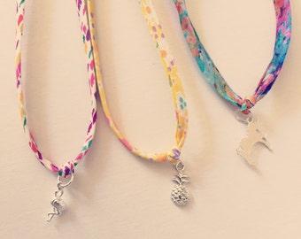 Liberty Fabric Bracelets