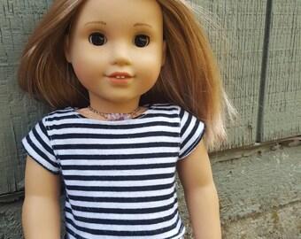 American girl doll lavender crystal chip choker