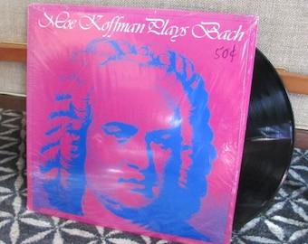 "Vintage 70's ""Moe Koffman Plays Bach"" Classical Flute Music Vinyl Record Album - Flautist - 70's Album - 70's Record"