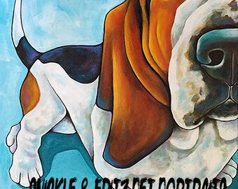 Custom Pet Portraits 12x12 Original Canvas Art Painted from your photographs Dog Art Pet Art