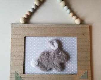 Wool child room decoration