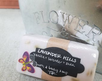 Lavender Hills Bath and Body Soap