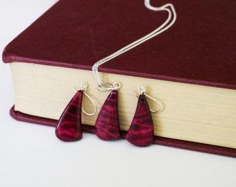 Wine Pendant Silver Jewellery