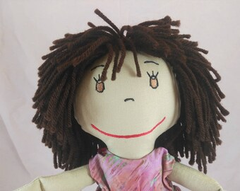Rag Dolls, Handmade Soft Doll, Shower gift, Girls Birthday gift, Wedding Pair, Custom Doll, Personalized Rag Dolls, Plush Doll, Stuffed Doll