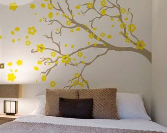 Watsonia Branch -- Vinyl Wall Decal