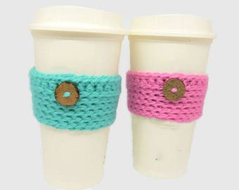 Coffee Sleeve // Coffee Cosy // Cup Cozy // Cup Sleeve // Coffee Lover Gift // Coffee Cozies // Coffee Cup Sleeve // Gift Coffee Lover