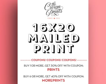 """16x20 Print - Get your printable art mailed to you from The Crown Prints! High quality 16""""x20"""" print shipped to your home"""