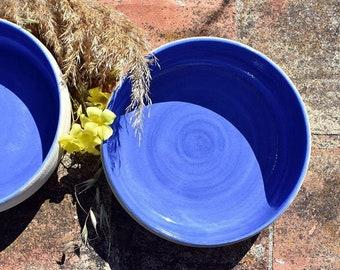 Summer blue bowls