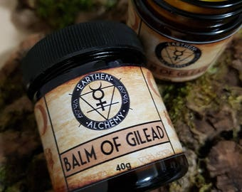 Balm of Gilead ~ Vegan Cottonwood Herbal Salve