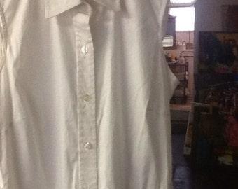 DKYN White Cotton Summer Dress