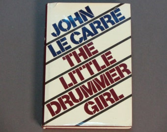 John Le Carre - The Little Drummer Girl - Spy Thriller - First Edition Alfred A. Knopf 1983 - Vintage Spy Novel - Hardcover Book