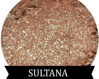 Gold Sparkle Eyeshadow  SULTANA