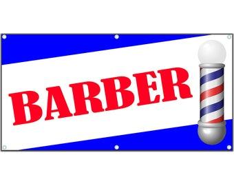 Barber Vinyl Banner