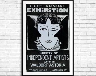 New York vintage, Independent Artists, Waldorf Astoria, New York City, New York antiques, New York City Posters, New York art prints, prints