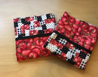 Cherry Themed Pillowcases