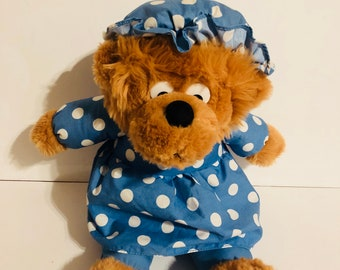 Vintage 1996 berenstain Bears mama bear plush toy stuffed animal
