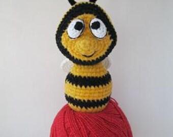 """Crochet  Amigurumi Cute BEE   """"JooJoo"""""""