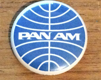"1"" Button - Pan Am"