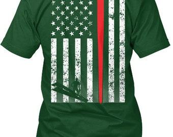 American Ironworker Hanes Tagless Tee Tshirt