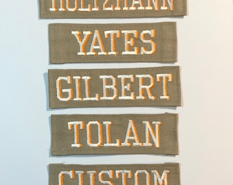 Ghostbusters 2016 Name Patch - Holtzmann Gilbert Yates Tolan Custom