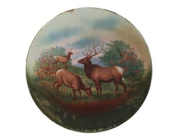 R. K. Beck Elk Art Plate (Large)