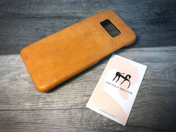 NEW S9/S9 Plus Samsung Galaxy Leather Case genuine natural leather use as protection CHOOSE color and device