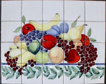 Fruit on The Vine Mural
