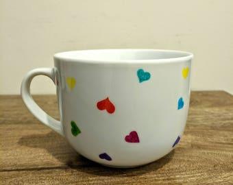 """LMC """"Endless Love"""" - Large hand drawn sharpie mug"""