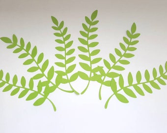 Paper Flower Leaf Digital Version- Silhouette File
