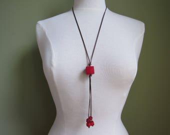 Tagua Necklace, Eco friendly Necklace, Eco Necklace, Tagua Jewelry Tagua nut jewelry, Long Necklace Boho Necklace