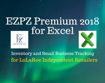 EZPZ Premium 2018 for Excel - (LuLaRoe Independent Retailers Edition)