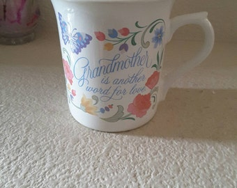 Grandmother is another word for Love-Hallmark Mugs