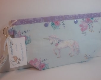 Unicorn project bag   Medium size