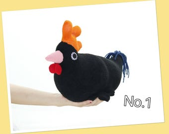 Stuffed  hen plush toy