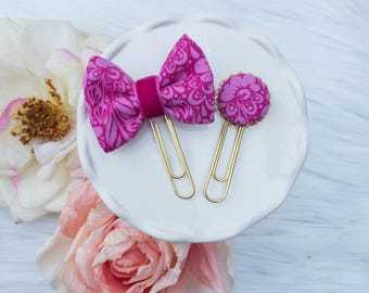 Dainty Planner Clip in Happy Pinks