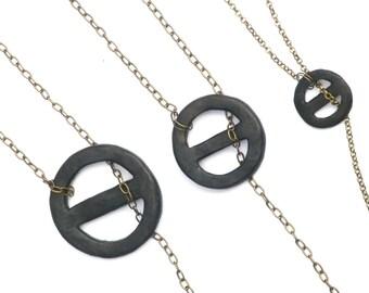 Sansa Stark Black Necklace Inspired, Game of Thrones