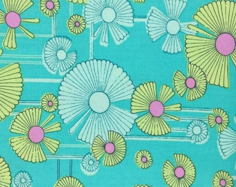Glow by Amy Butler for Westminster Fabrics - Wind Flower in Green - Fabric by the Half Yard