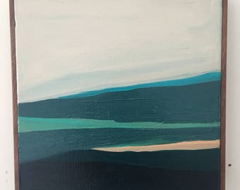 Modern Abstract Seascape Original Painting