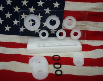 New!!!!  U.S. Six Coin Centering Punch Card.