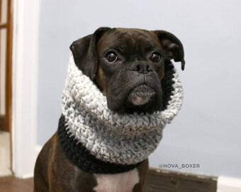 Chunky Crochet Dog Snood