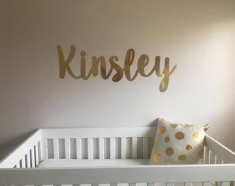 Nursery Name- Wall Letters- Wall Sign-custom name sign-wall decal-wall decor-nursery wall sign-nursery decor